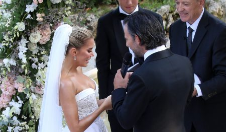Sylvie Meis And Niclas Castello Newlyweds In Villa Cora